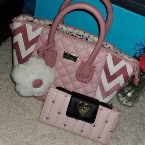 New like Betsey Johnson  purse & wallet